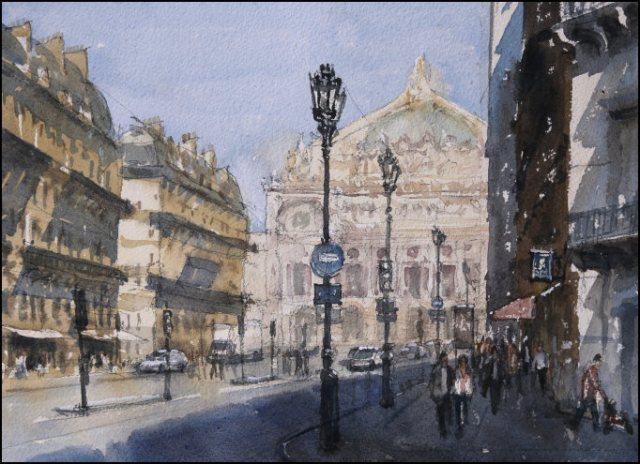 Boulevard d'Opéra - Jonathan Bray