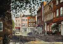Croomes Hill, Greenwich - Watercolour on paper © Jonathan Bray 2015