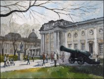 Naval College, Greenwich - Watercolour on paper © Jonathan Bray 2015