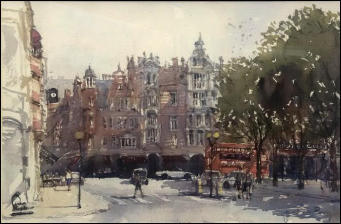 Sloane Square (Pintar Rapido 2016) - Jonathan Bray